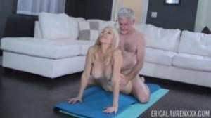 Erica Lauren celebra con mucho sexo sus 30 años de casada en fakings